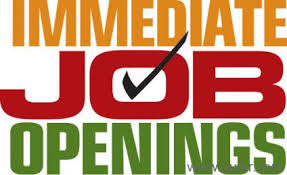Urgent Job Openings